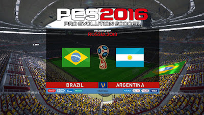 PES 2016 Scoreboard FIFA World Cup 2018 Russia