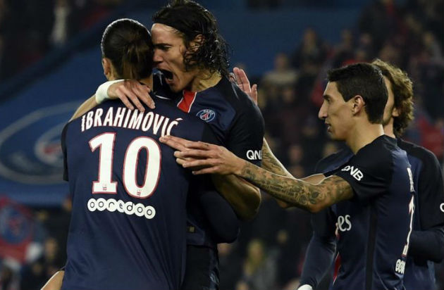 Paris SG 4 - 1 St Etienne # Tous les Buts