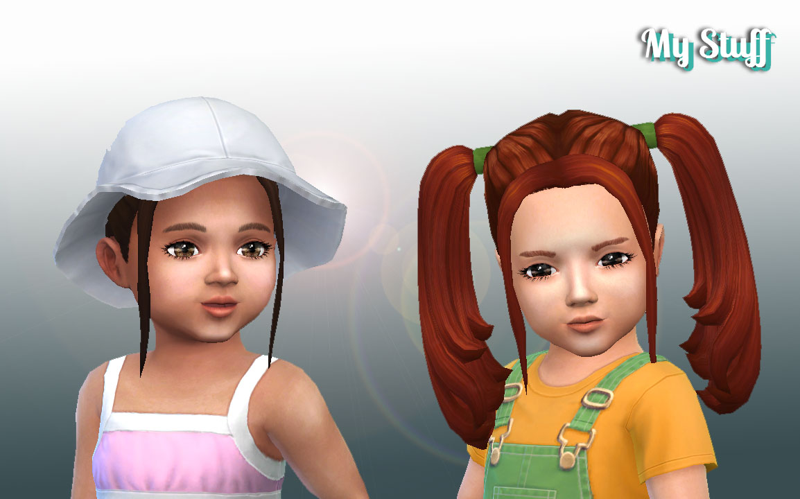 My Stuff Harley Quinn Hairstyle for Toddlers