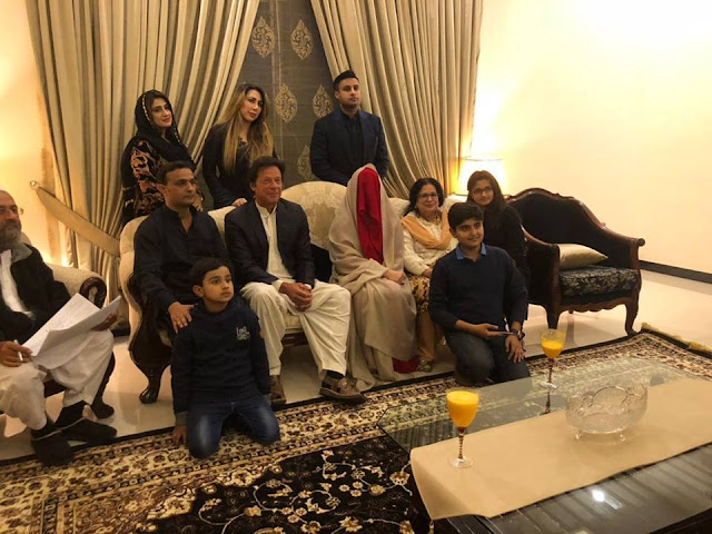 Imran khan Nikah with Bushra Maneka