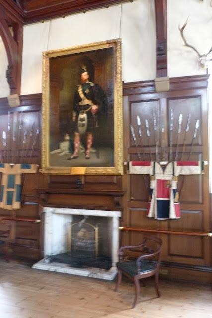 Schilderij in kasteel Blair, Schotland