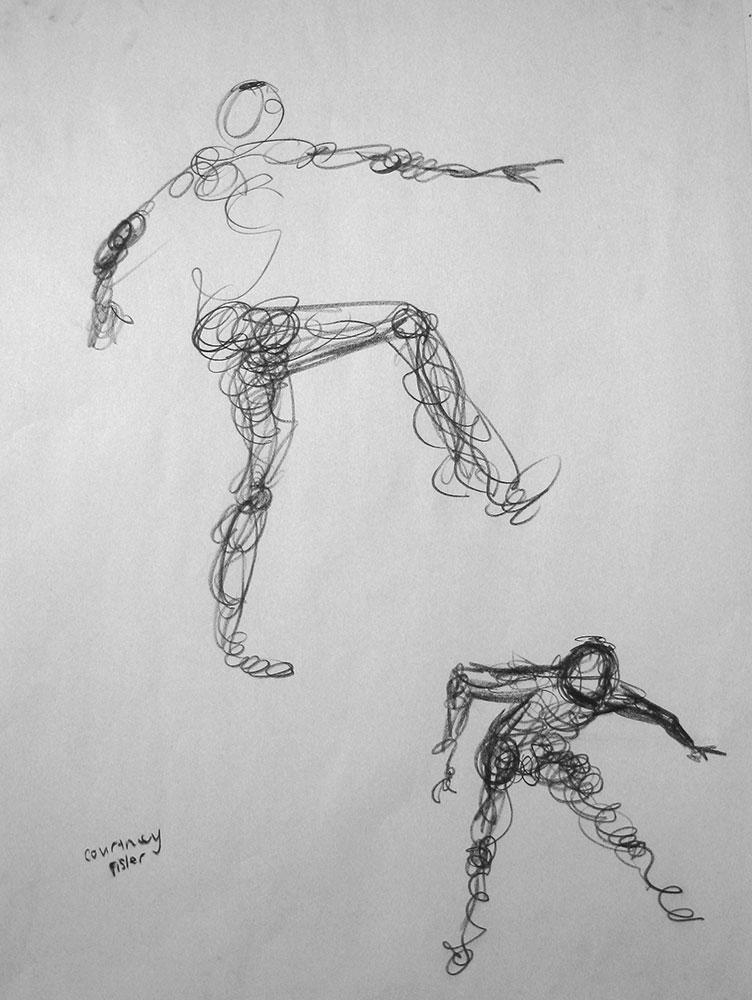 Scribble Line Gesture Drawing : Gesture drawing seeing