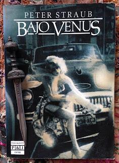 Portada del libro Bajo Venus, de Peter Straub