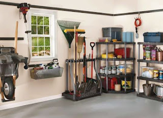 Various Garden Tool Storage Ideas
