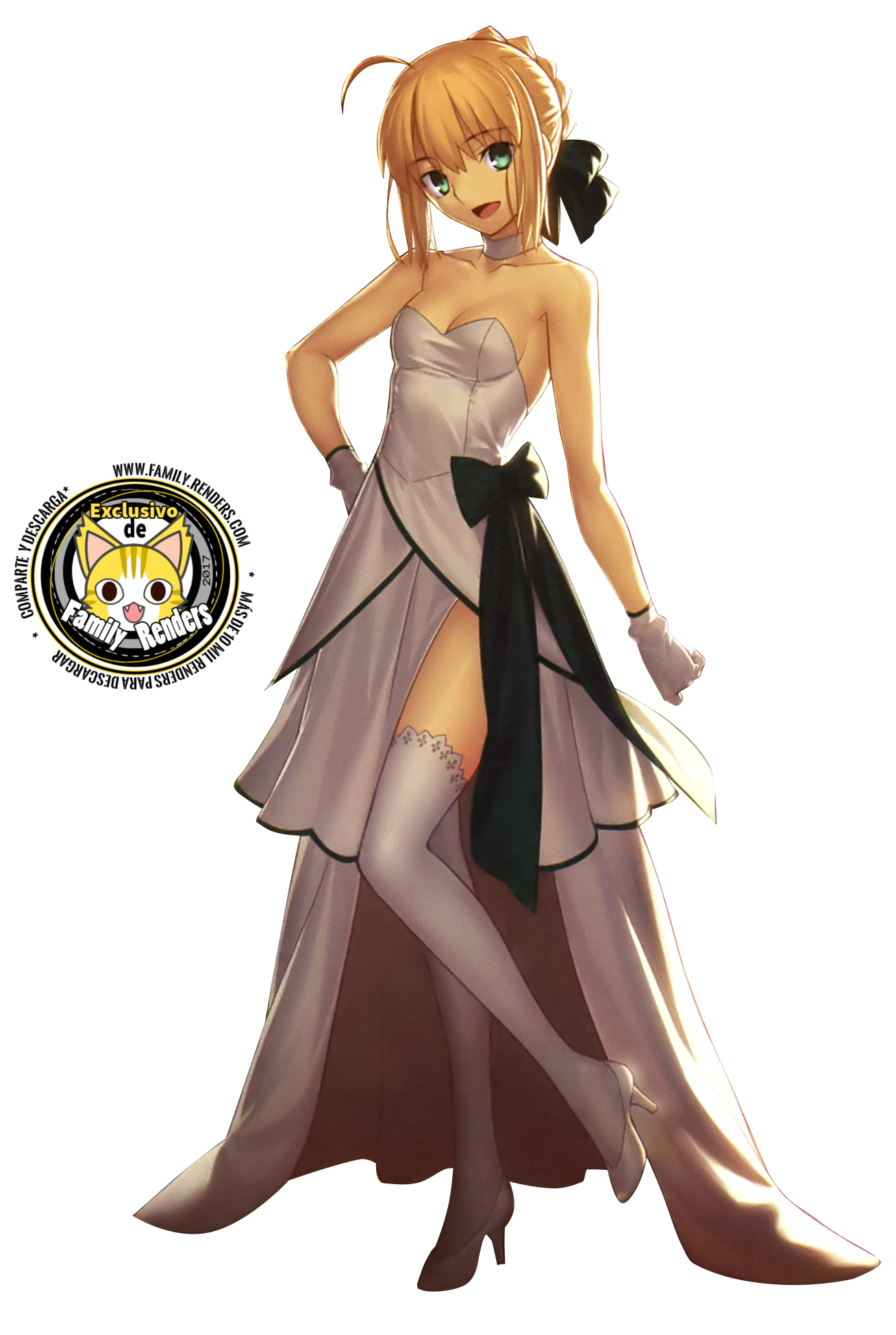 render saber lily