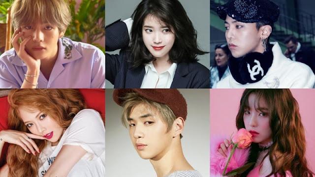 Idols အေယာက္ ၁၀၀ ကိုယ္တိုင္ မဲေပးေရြးခ်ယ္ခဲ့တဲ့ အေကာင္းတကာ့ အေကာင္းဆံုး K-Pop Idols မ်ား