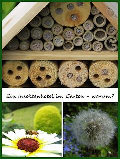 Insektenhotel im Garten - warum?