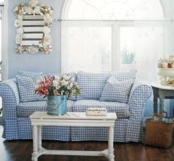 Beach Cottage Style Decorating via Cottage Style Magazine ...