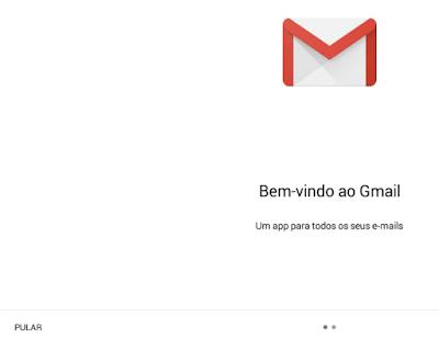 Como criar email pelo Android