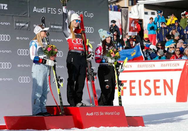 Second Consecutive Victory for in Super-G for Mikaela Shiffrin