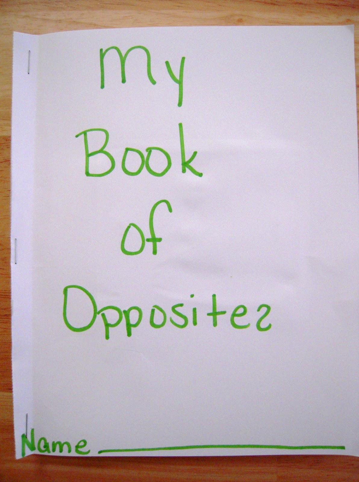 La La S Home Daycare Opposites Day Opposites Books