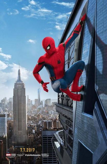 Nuevos posters oficiales de Spider-Man: Homecoming