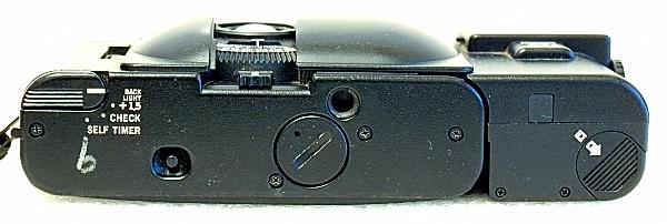 Olympus XA, bottom