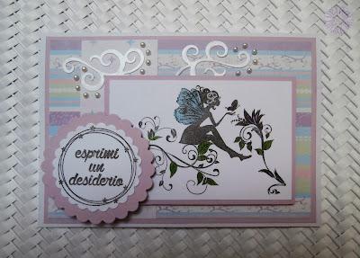 biglietto di auguri esprimi un desiderio make a wish greeting card Fantacartando Bergamo