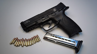Smith & Wesson S&W M&P pistol 22LR magazine high-cap high capacity modification banned follower spring tube nictaylor00