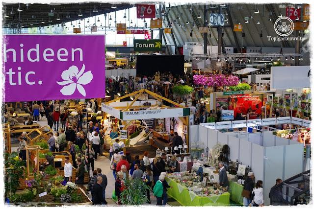 Gartenblog Topfgartenwelt Gartenmesse 2017: Überblick über die Gartenhalle