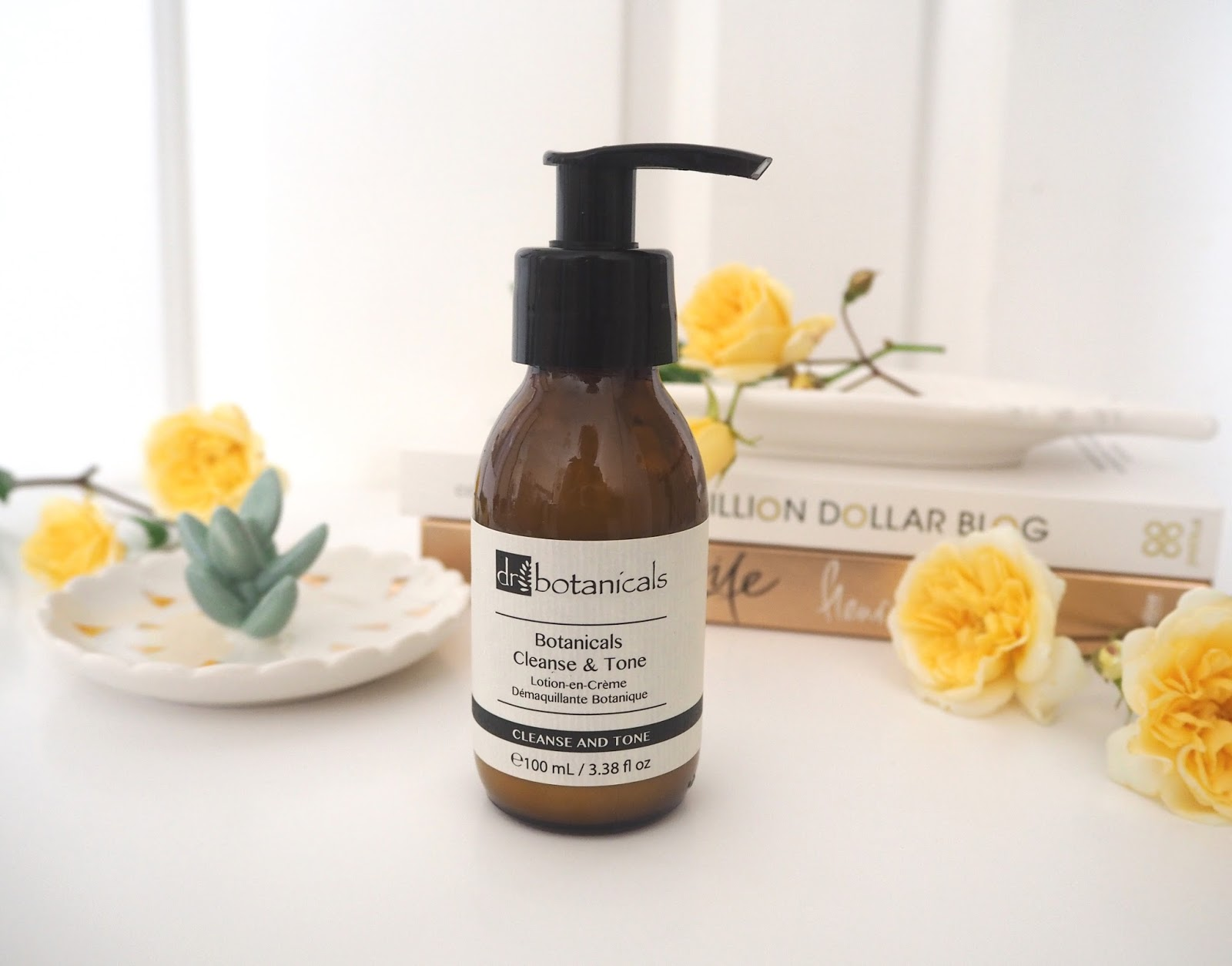 Dr Botanicals Cleanse & Tone 2-in-1 Cleanser, Katie Kirk Loves, Beauty Blogger, Dr Botanicals Skincare, UK Blogger, Skincare Review, Discount Code, Skincare Routine, Luxury Skincare Products, Facial Cleanser