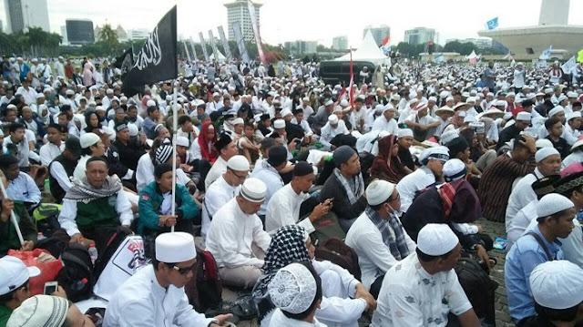 Pendukung Jokowi: Reuni Alumni 212 Kampanye Terselubung Prabowo