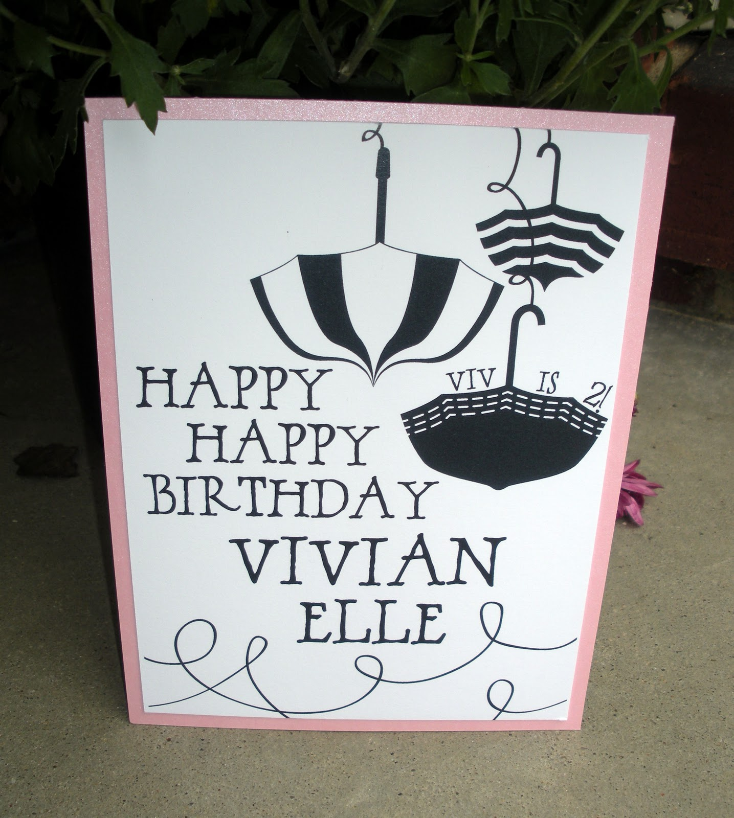 Happy Birthday Vivian Cake