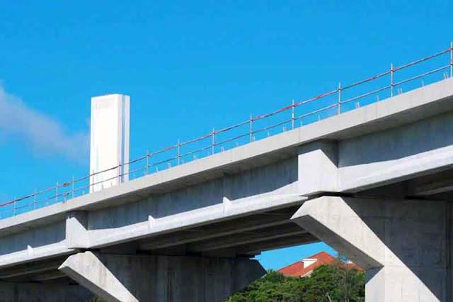 bypass, bridge, power-plant, Kin Town, Okinawa