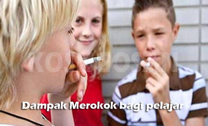 bahaya merokok pelajar murid