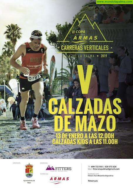 La 'V Calzadas Mazo' abre el calendario de las carreras verticales de la Copa Naviera Armas