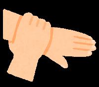 手指消毒のイラスト7