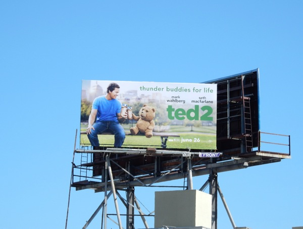 Ted 2 film billboard