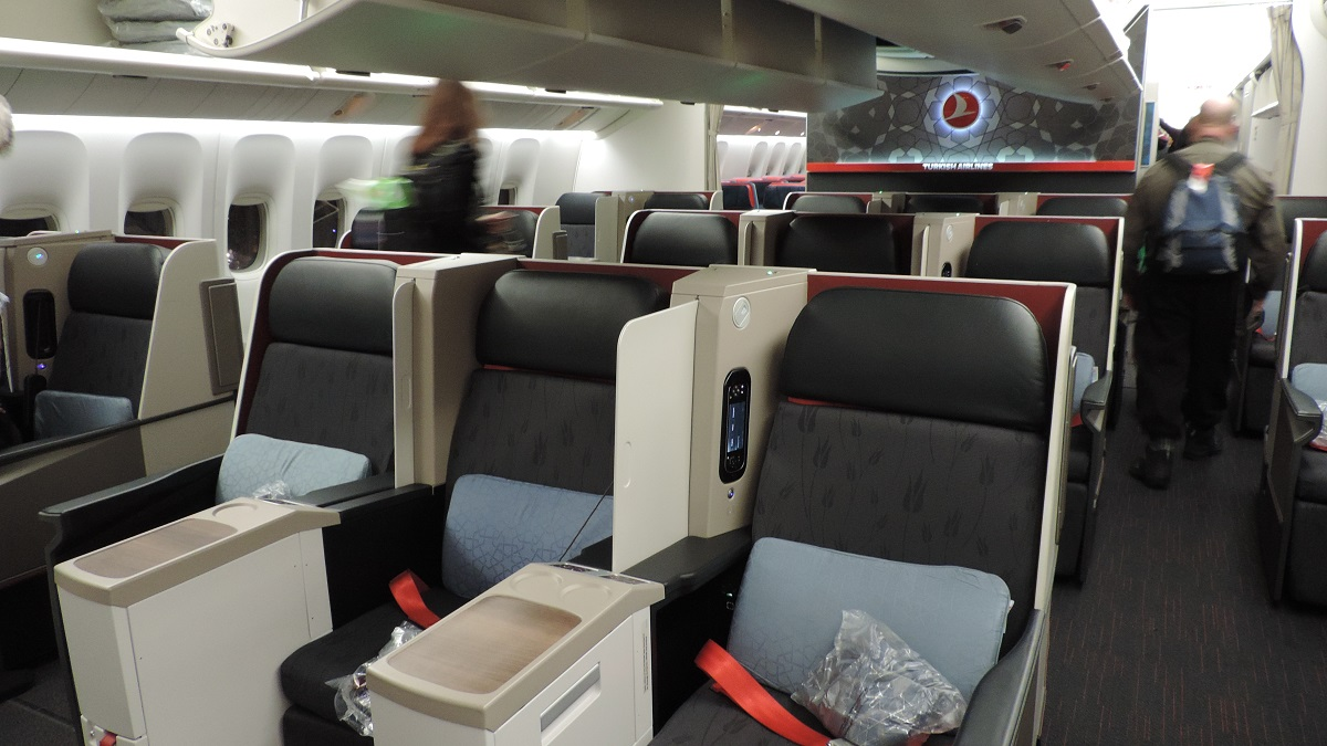 The Filipino Traveler Review Turkish Airlines B777 Business Class Istanbul Manila