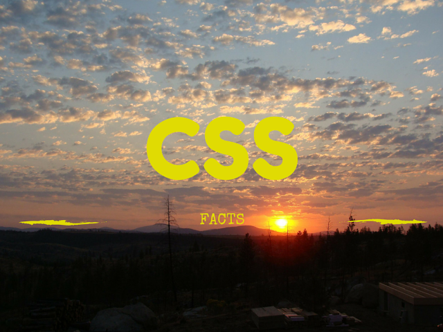 List of Best CSS Facts a Web Designer Must Know