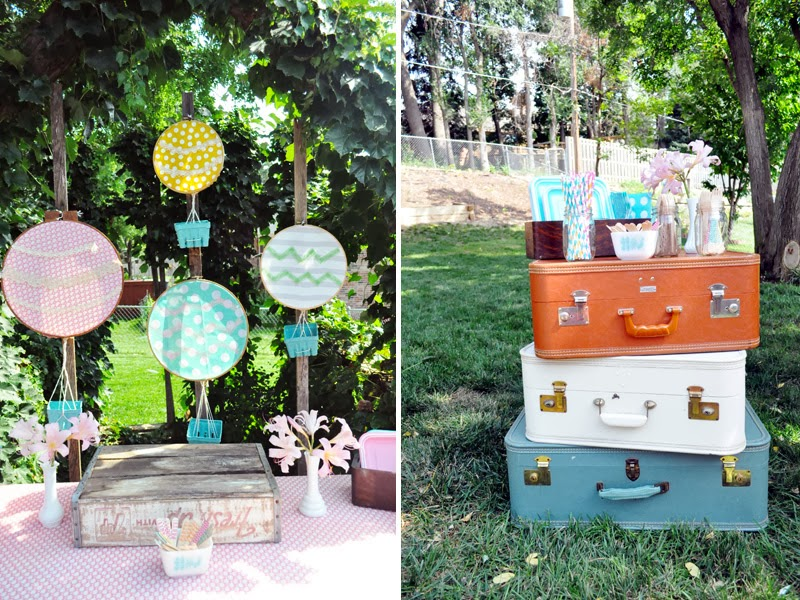 Modern Vintage Travel-Themed Party (Or Happy First Birthday, Nora!)