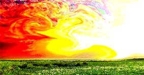 tutorial edit foto : cara membuat efek api di langit dengan photoshop ...