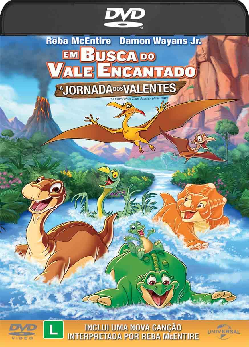 Em Busca do Vale Encantado – A Jornada Dos Valentes (2017) DVD-R Oficial