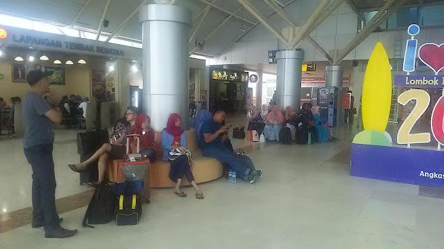 Bandara Lombok Ditutup hingga Besok Pagi