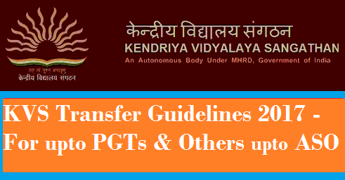kvs-transfer-guidelines-2017-for-upto-pgt-aso-paramnews