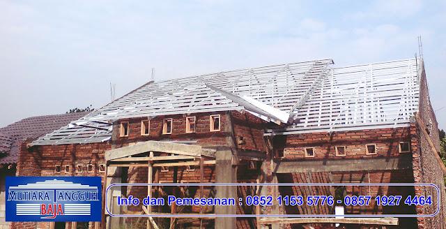 Renovasi Rangka Kayu Ganti Baja Ringan Wilayah Jakarta