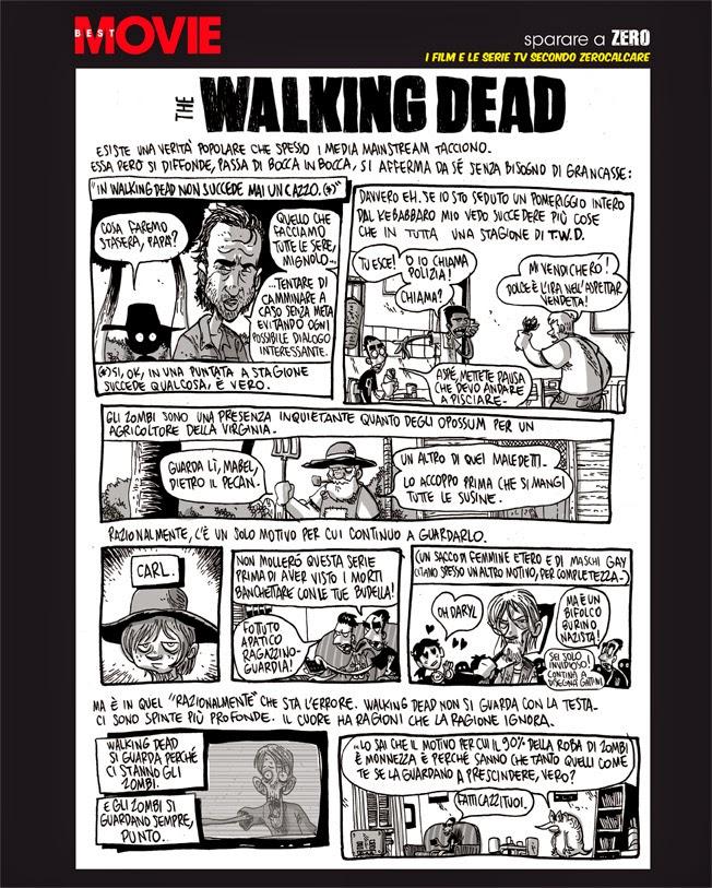 The Walking Dead, l'analisi di Zerocalcare