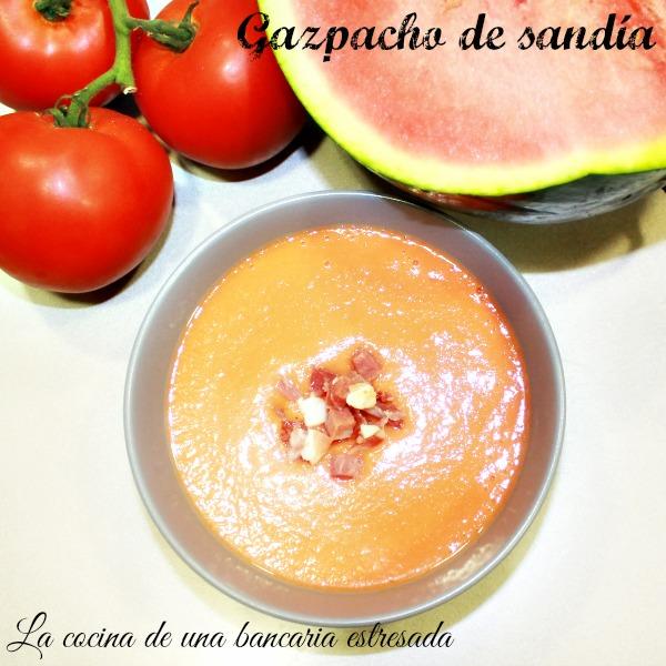 Receta de gazpacho de sandía