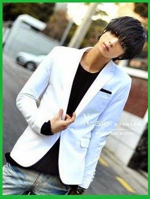 Model blazer Korea untuk pria