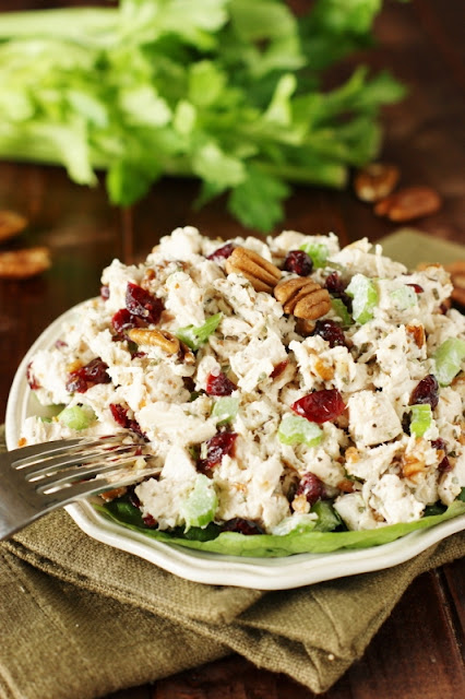 Traditional southern chicken salad the kitchen is my playground tarragon chicken salad forumfinder Images