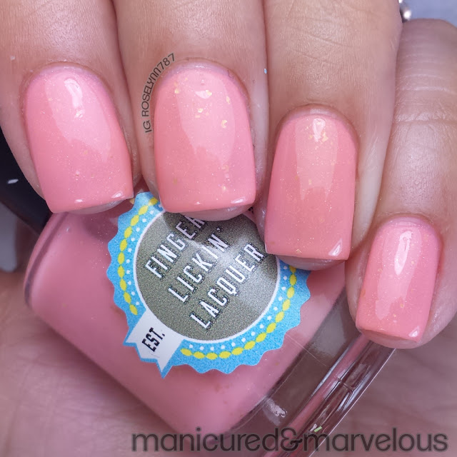 Finger Lickin Lacquer - Peachy Keen
