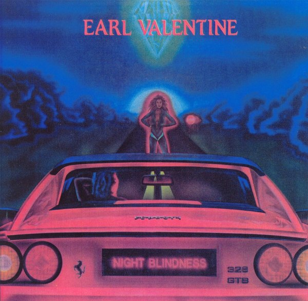 EARL VALENTINE - Night Blindness (1987) front