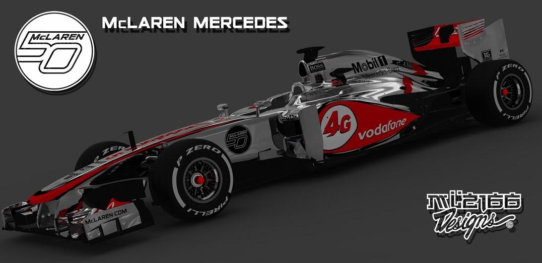 Mclaren - Monza 2013 Livery Update - F1 Fast Lap - The ...