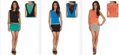 Vestidos linea Glamour de colores