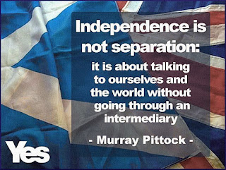Independence is... #ScotRef #Brexit #TheYESMovement