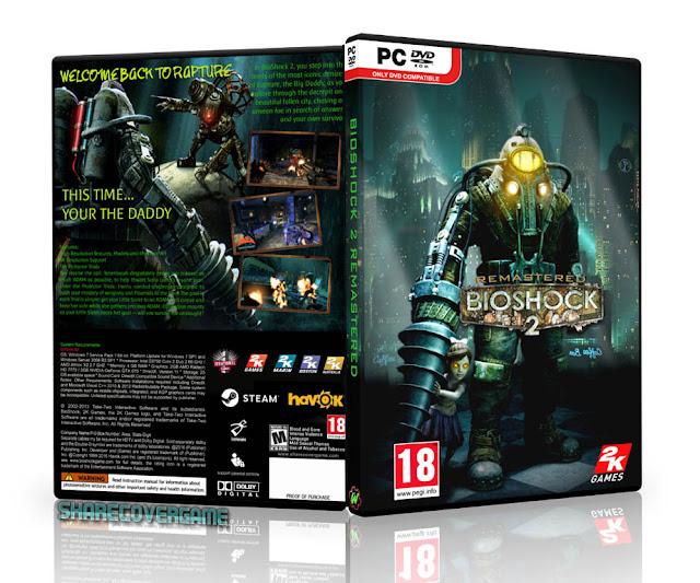 BioShock 2 Remastered Cover Box