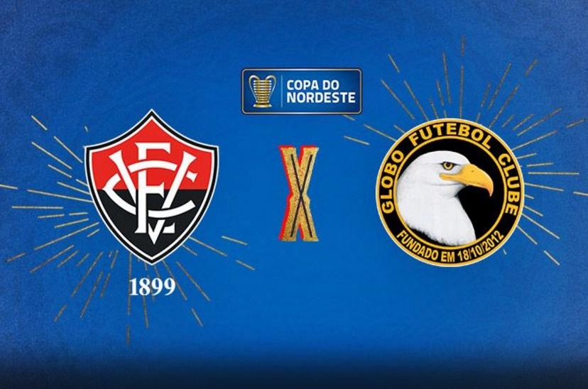 Vitória x Globo FC - Copa do Nordeste 2018 - Ao vivo HD 1