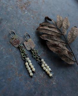 solarwheel earrings