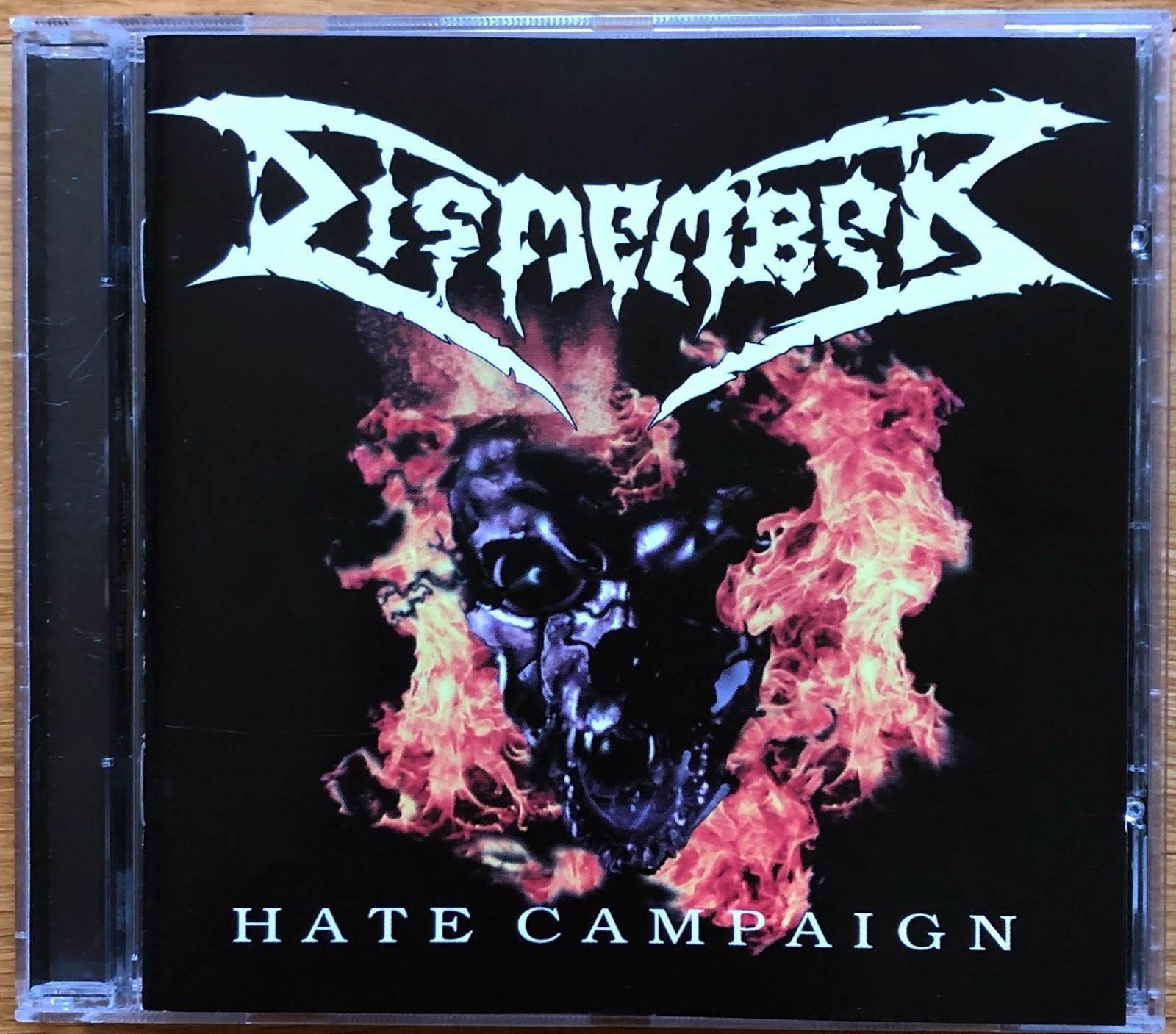 T-Shirt Noir NOUVEAU ET OFFICIEL! Dismember /'Death Metal/'