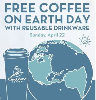 Ideal Earth Day Freebies Starbucks